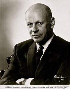 William Schuman circa 1965