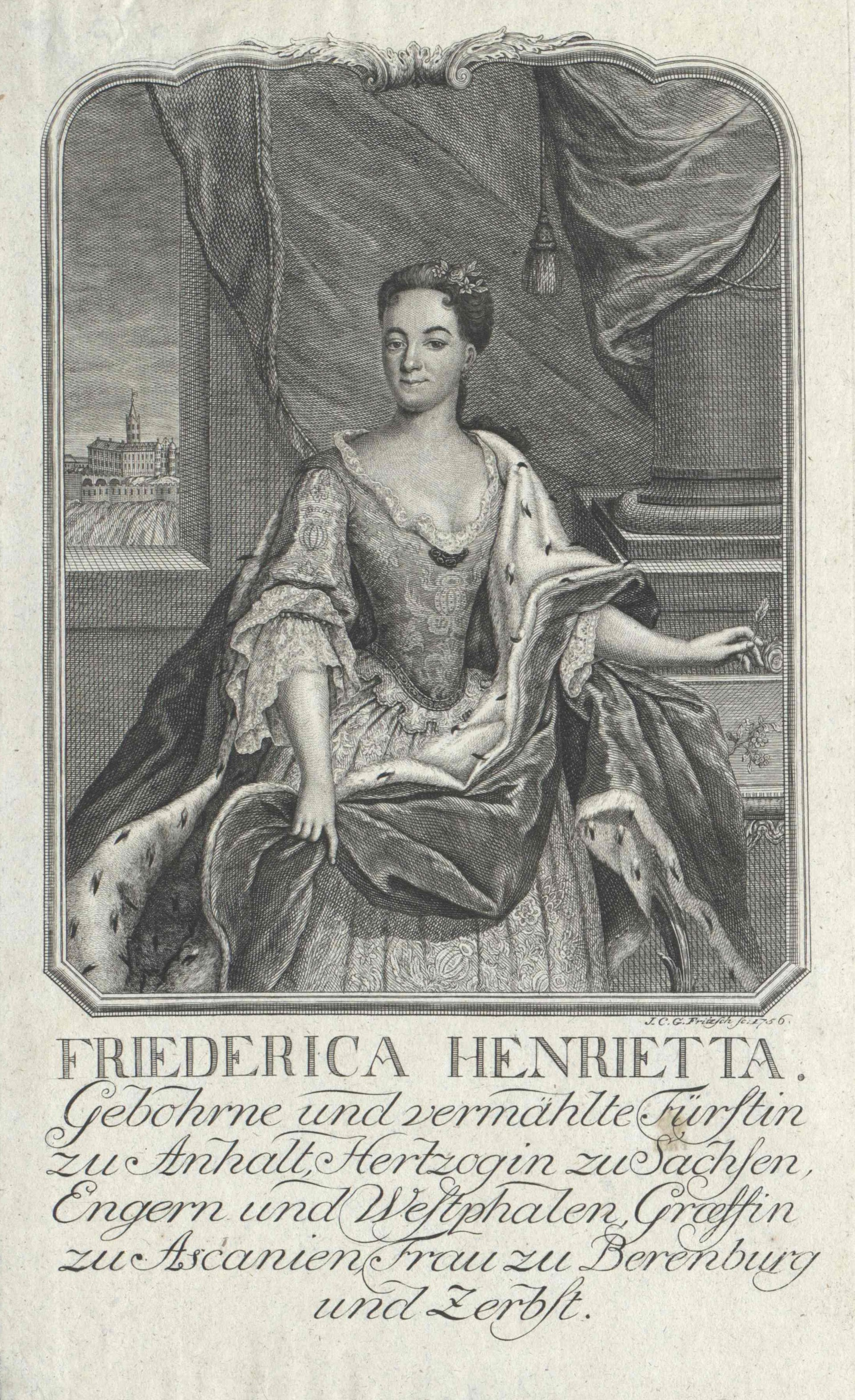 Frederica Henriette von Anhalt-Köthen