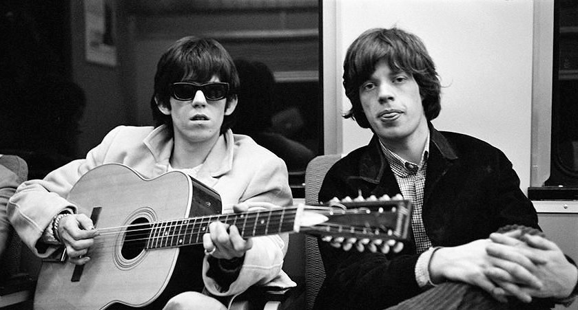 Keith Richards and Mick Jagger in 1965