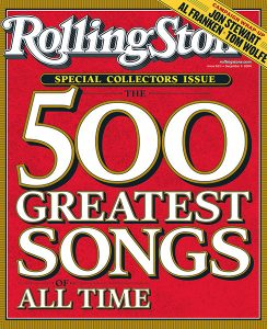 Rolling Stone Magazine cover; issue 963; December 9, 2004