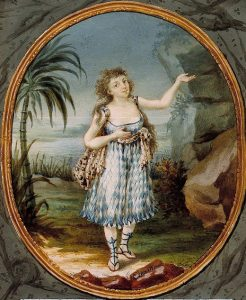 Painting of Anna Gottlieb in 1795