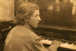 Young Henry Cowell at the piano