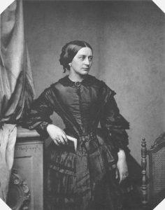 Clara Schumann in 1857, age 38