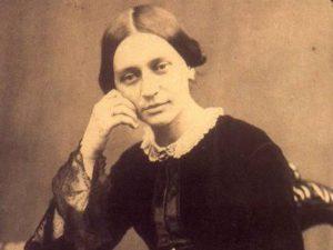 Clara Schumann in late 1854