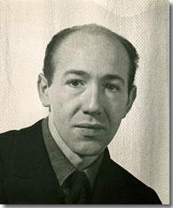 Composer David Diamond ca 1945