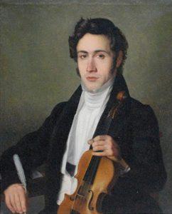 Paganini circa 1801