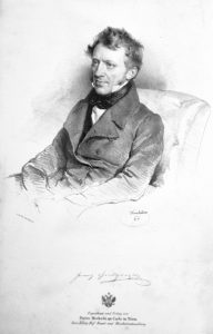 Franz Grillparzer in 1841