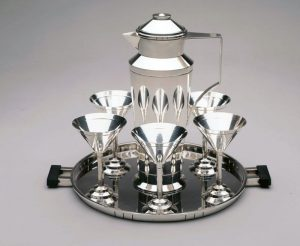 Gorham silver cocktail set