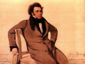 Franz Schubert in 1825