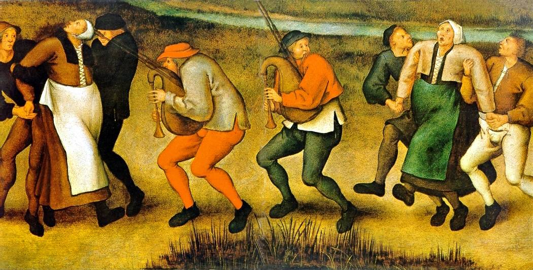 painting by Pieter Brueghel the Younger, after drawings by his father.