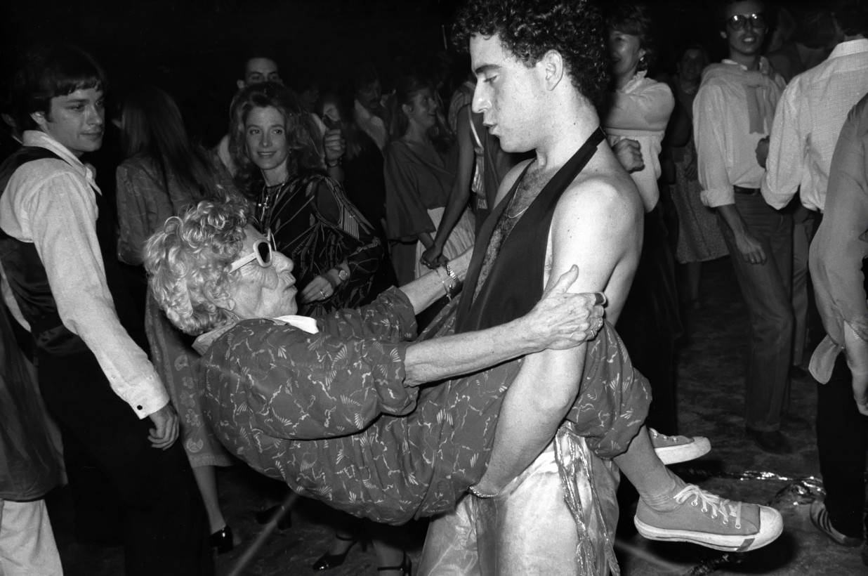 Choreomania with Disco Granny at Studio 54, 1978