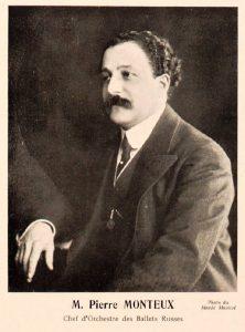 Pierre Monteux in 1912