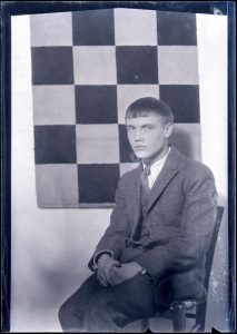 Antheil circa 1925, photographed by Man Ray