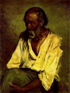 Picasso: The Old Fisherman 1895