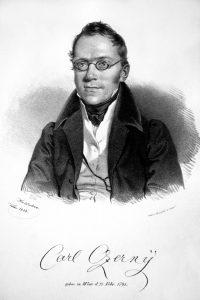 Carl Czerny in 1833