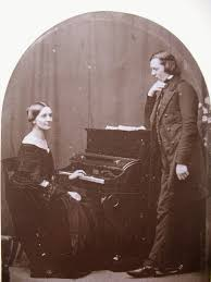 Clara and Robert Schumann in 1850