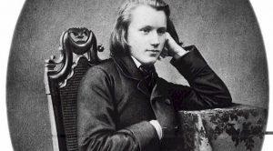 Johannes Brahms circa 1854