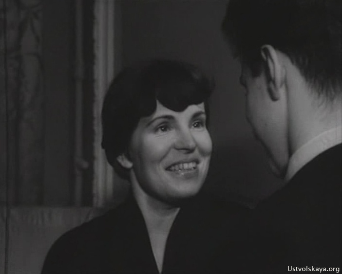 Galina Ustvoslkaya in 1959