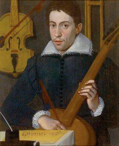 Monteverdi as a young man