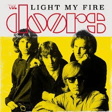 45-rpm single of The Doors Light My Fire