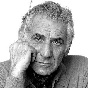 Leonard Bernstein in 1977