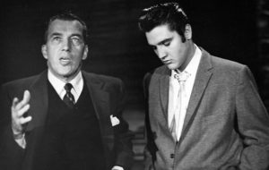 Elvis Presley and Ed Sullivan