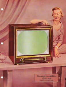 "Philco ""Custom 400"" television set, 1955"