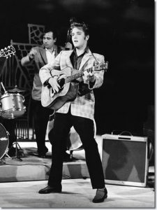 Elvis on The Ed Sullivan Show, September 9, 1956.