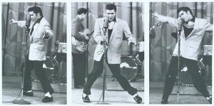 "Elvis ""the Pelvis"", bustin' some moves"