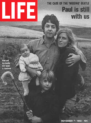 Cover of Life Magazine, November 7, 1969