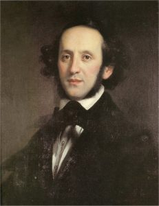 Jacob Ludwig Felix Mendelssohn (1809-1847) in 1846