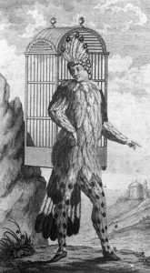 Emanuel Schikaneder as the original Papageno