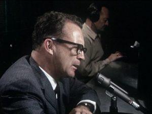 Ernie Harwell (1918-2010) in 1966