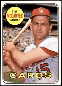 Tim McCarver (b. 1941) in 1969