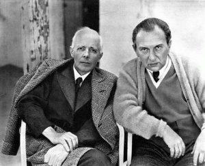 Fritz Reiner and Béla Bartók in 1942