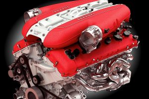 Ferrari F140 V12 engine