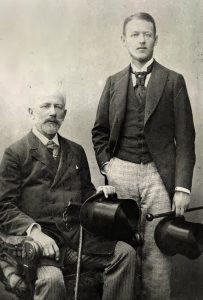 Tchaikovsky and Vladimir Davidov