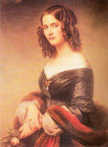Cécile Charlotte Sophie Jeanrenaud Mendelssohn in 1846