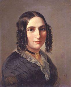 Fanny Cäcilie MendelssohnHensel in 1842