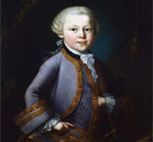 Mozart in 1763