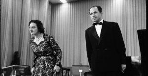 Yvonne Loriod (1924-2010) and Pierre Boulez (1925-2016), circa 1960