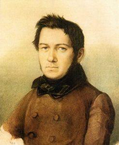 Mikhail Ivanovich Glinka (1804-1857) in 1840