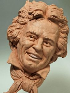 Smiling Beethoven Bust
