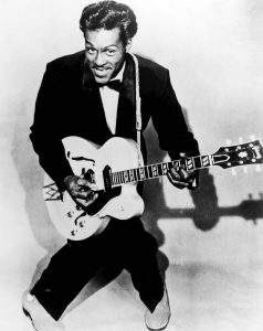 Chuck Berry (1926-2017) in 1957