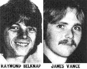 Raymond Belknap and James Vance