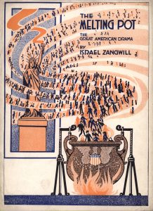The cover of Israel Zangwill's play The Melting Pot (1908)