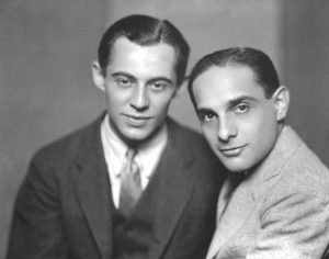 Richard Rodgers and Lorenz Hart circa 1930