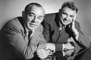 Richard Rodgers and Oscar Hammerstein II, ca. 1950