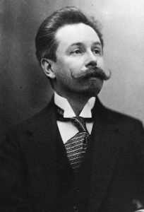 Alexander Nikolayevich Scriabin looking every inch the dandy that he was