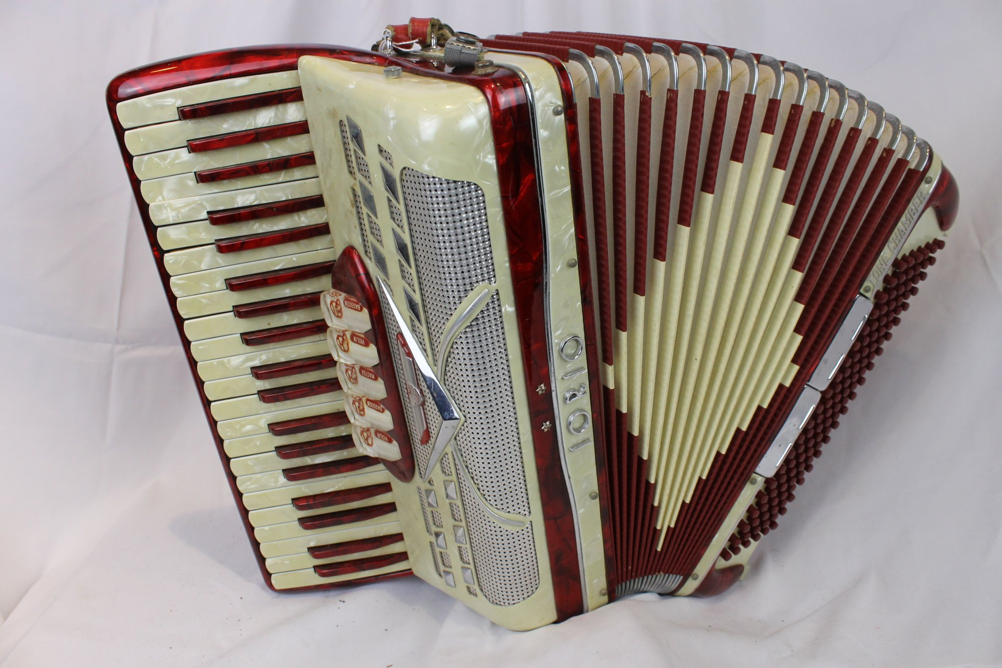 A very snazzy modern accordion